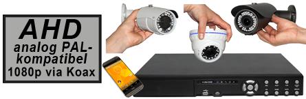 AHD Überwachungskamera-Set