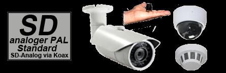 PAL-Überwachungskamera-Shop-Auswahl