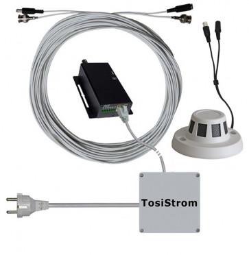 TosiStrom Rauchmelderkamera mit Webserver
