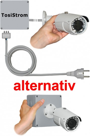 "TosiStrom-extern Realtime 2K 4MP Powerline-Kamera ""IR-Vario-Outside"""