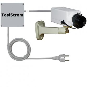 "TosiStrom-extern 2K 4MP Realtime HD-Powerline-Kamera ""Vario-AI-CUT-Indoor"""