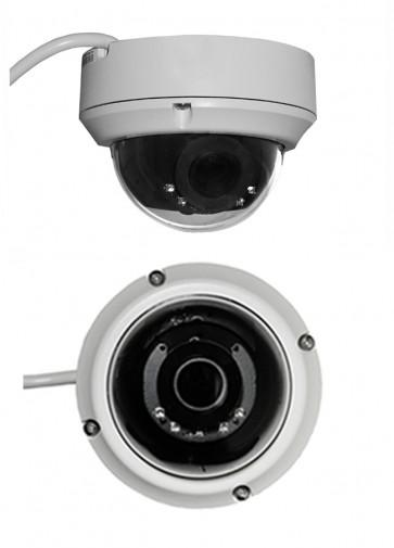 "TosiNet Realtime 4K 8MP PoE-Dome-IP-Kamera ""SONY-StarLight-Motor-Vario-Outside"""