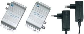 -> ABVERKAUF! TosiTech Zweidrahtüberträger (CAT5) Video/Audio/RS485 aktiv für PAL-Kameras