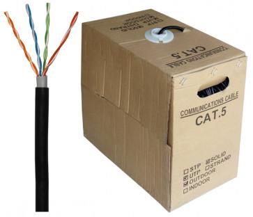 305 m Pull-Box ungeschirmtes Netzwerkkabel für außen CAT5