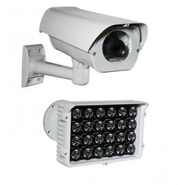 "TosiNet 4K 8MP Realtime 230 V Tele-Kamera ""HighPower-IR-Outside"""