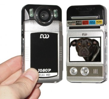 -> ABVERKAUF! LiteSpy HD-Realtime-Camcorder + Digitalkamera mit Display, Videoleuchte und Blitz