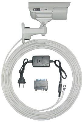 Plug & Play Video- und Stromkabel