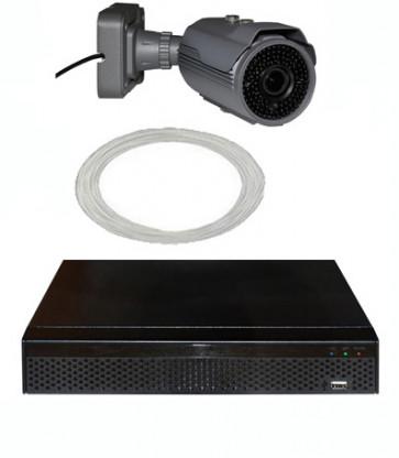 PROFI Digital-Kabel 1K 2MP Videoüberwachung Set 4x Vario-Kamera auf 1-3 reduzierbar mit Rekorder