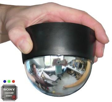 TosiSpy 0,1 Lux Color-SONY ® EXview-Tag/Nacht- Spiegel-Domekamera