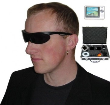 -> ABVERKAUF! LiteSpy 007-Videobrille + Minirekorder