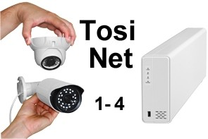TosiNet 1K 2MP Set
