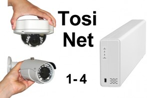TosiNet 2K 4MP Set