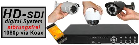 HD-SDI Überwachungskamera-Sets