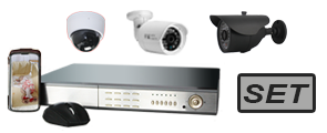HD-Videoüberwachungs-Sets